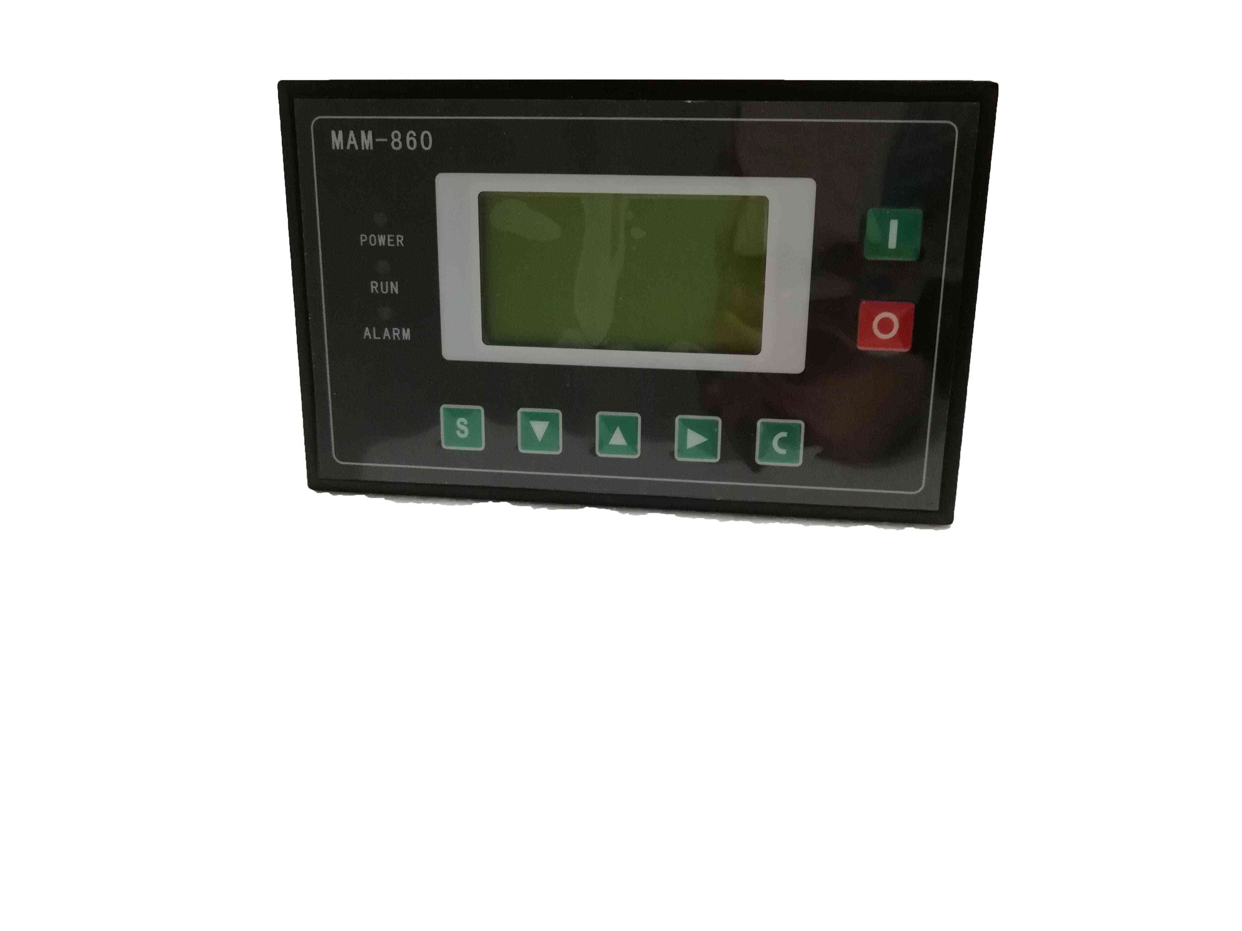 Air Compressor Parts-controller Panel With Wiring Diagram