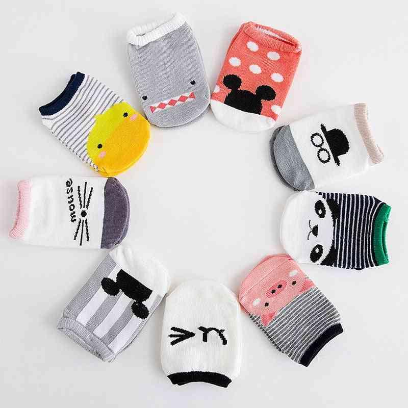 Anti Slip, Low Cut Shoes Socks For Babies