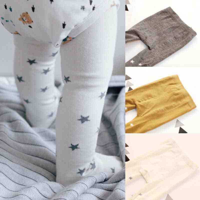 Star Printed, Long Tights For Toddlers