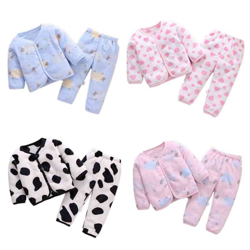 Spring Autumn Pajamas Set - Sleepwear