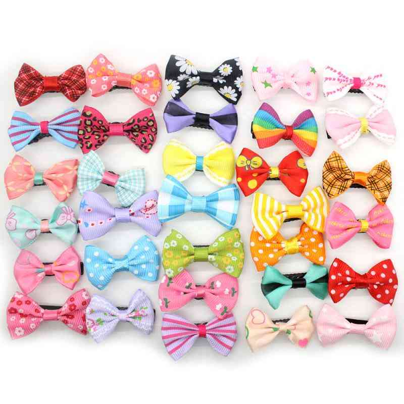 Colorful Bow Design Hairpins