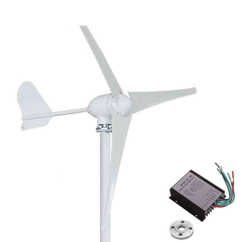 500w Wind Turbine, Blades With Waterproof Charger Controller
