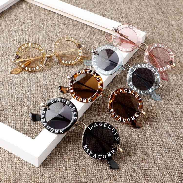 Letters Engraved, Fashion Sunglasses