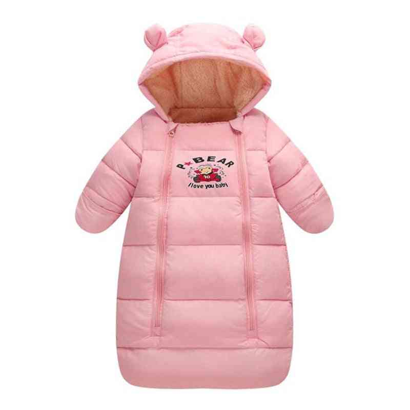 Winter Warm Hooded, Long Down Coat For