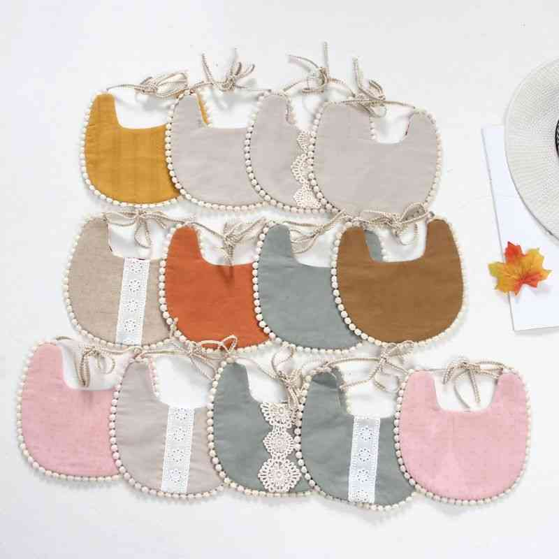 Vintage Floral, Newborn Double Sided Bibs For Baby