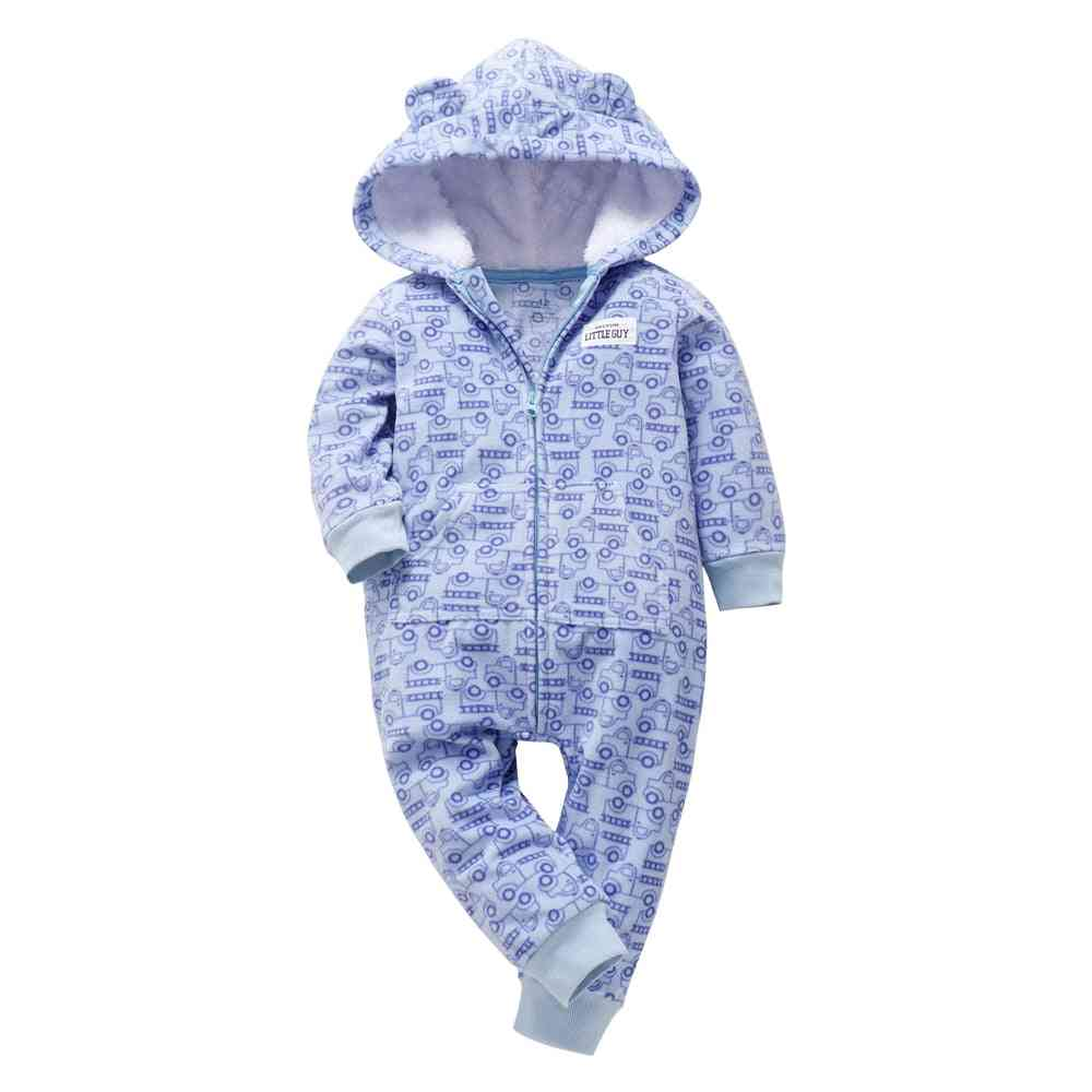 Spring Cute Camo Baby Jumpsuit Coat For Boy