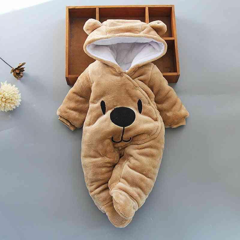 Newborn Baby Footies, Winter Warm Clothes