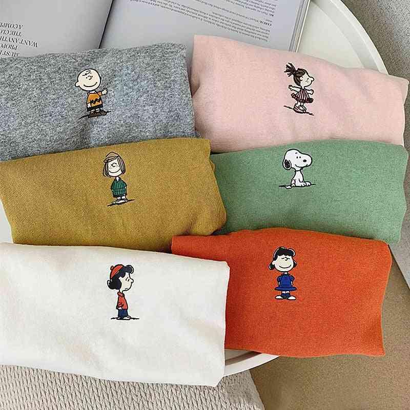 Cartoon Style, Full Sleeves Pullover
