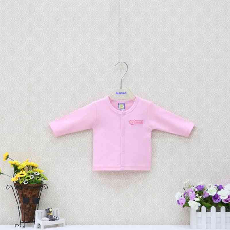 Little And 100% Cotton Shirts -long-sleeved Blouse