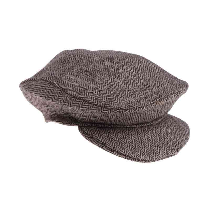 Cute Peaked Beanie Cap For Newborn-photography Prop