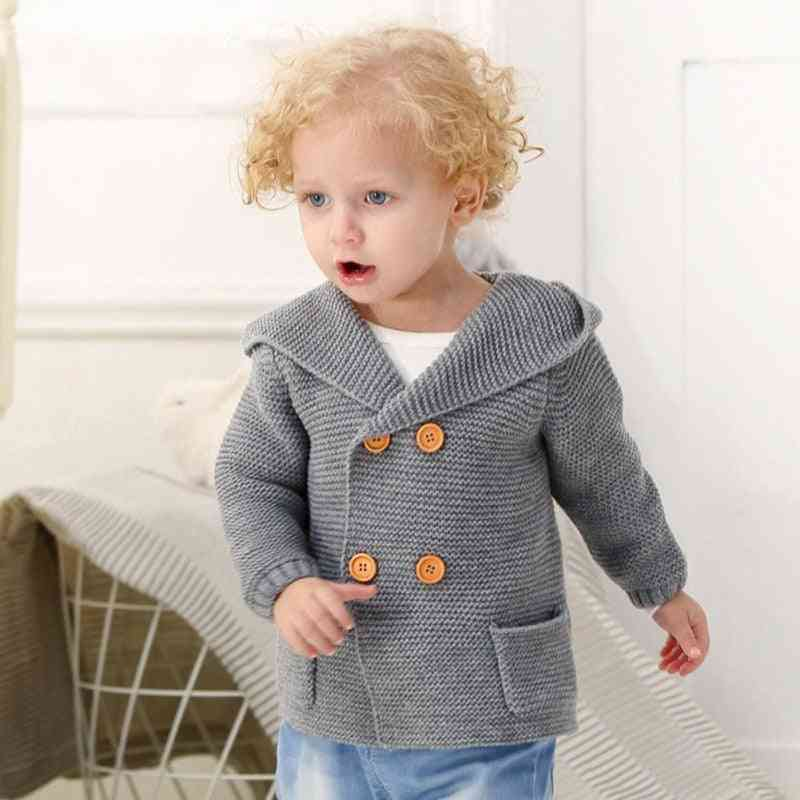 Spring Infrant Baby Sweater, Autumn & Winter Cotton Outerwear Boy / Girl Coat Clothes