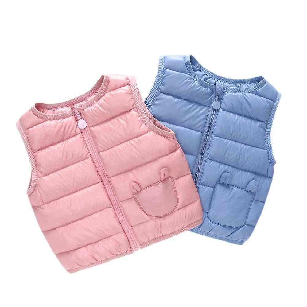 Winter Worm Bomber Vest Jackets