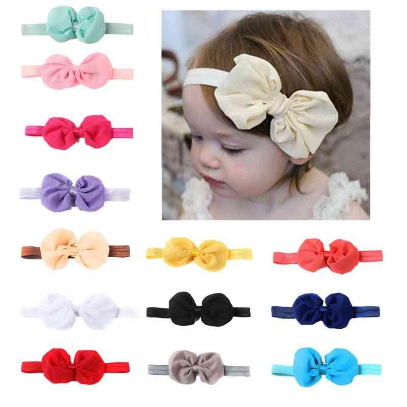 Newborn Bow, Hairband -headband Cute 3d Flower Style