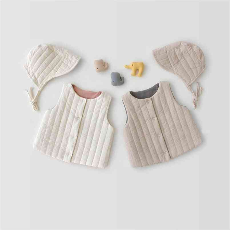 Newborn Baby Vest Thick Infant Waistcoat For - Jackets Coat Clothes Warm Tops Outwear
