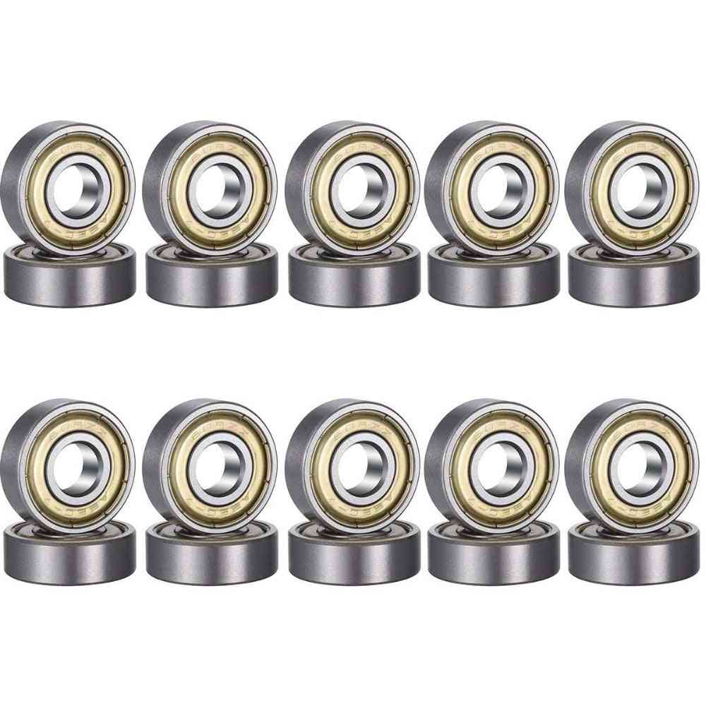 3pc/608zz Steel Bearing Deep Groove, Ball Miniature Bearings