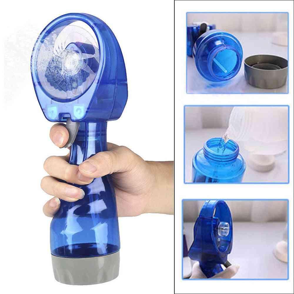 Portable Mini Hand Held Spray Cooling Fan