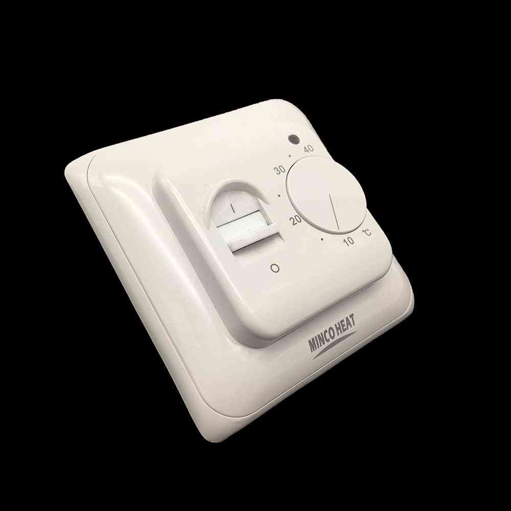 Manual Thermostat Controller For Warm Floor Heating System