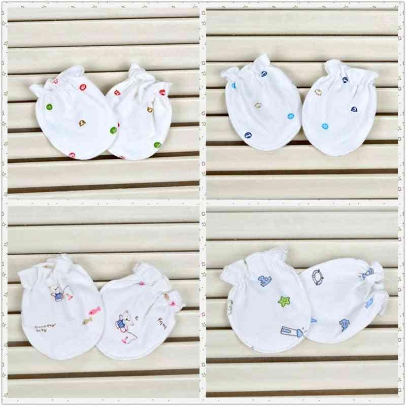 Cute Cartoon Baby / Anti Scratch Mittens Soft Gloves