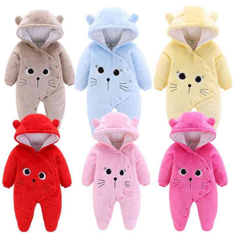 Baby Jumpsuit, Soft Clothes Snow Coats