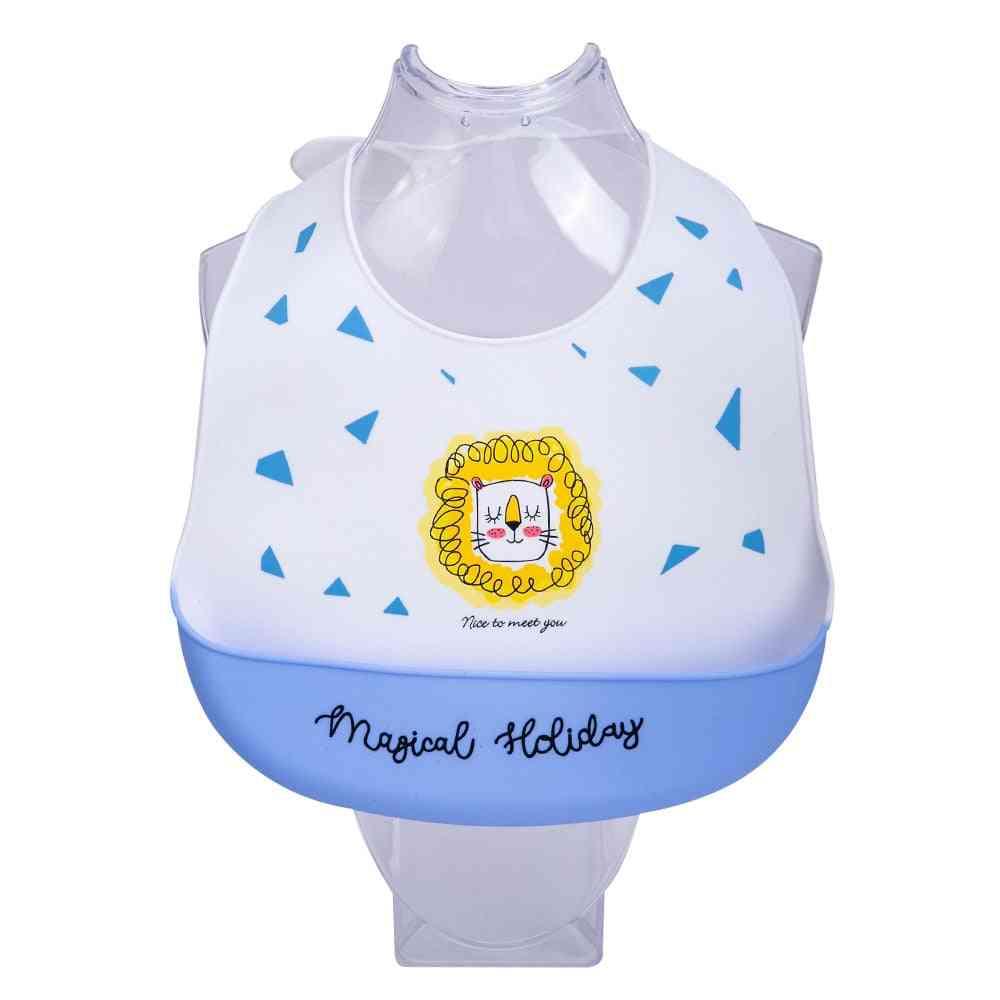 Newborn Baby Stuff, Waterproof Silicone Bibs