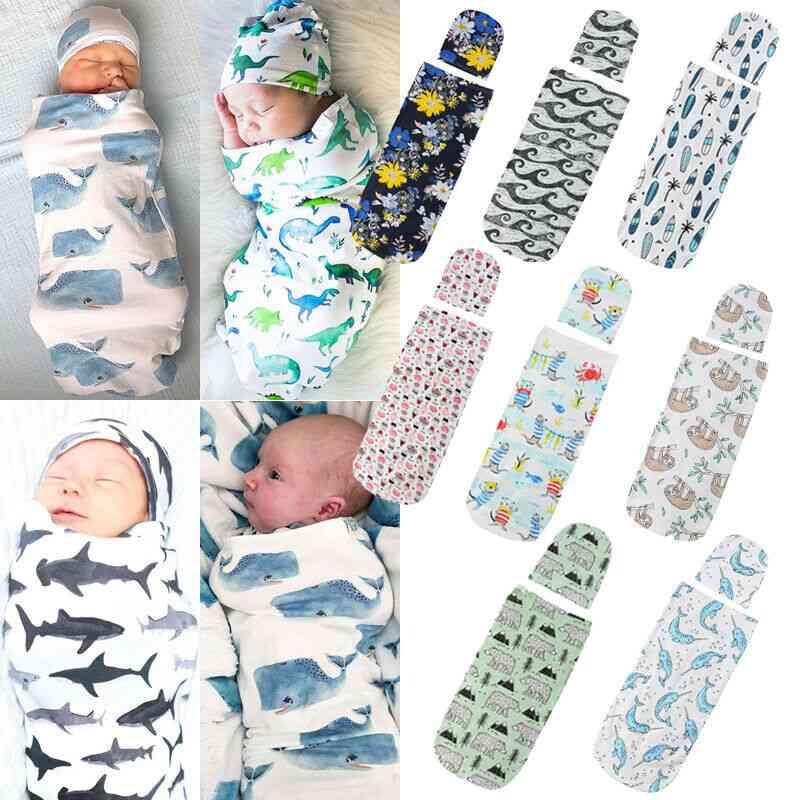 Baby Sleepwear, Blanket Warm Sleeping Bag & Hat