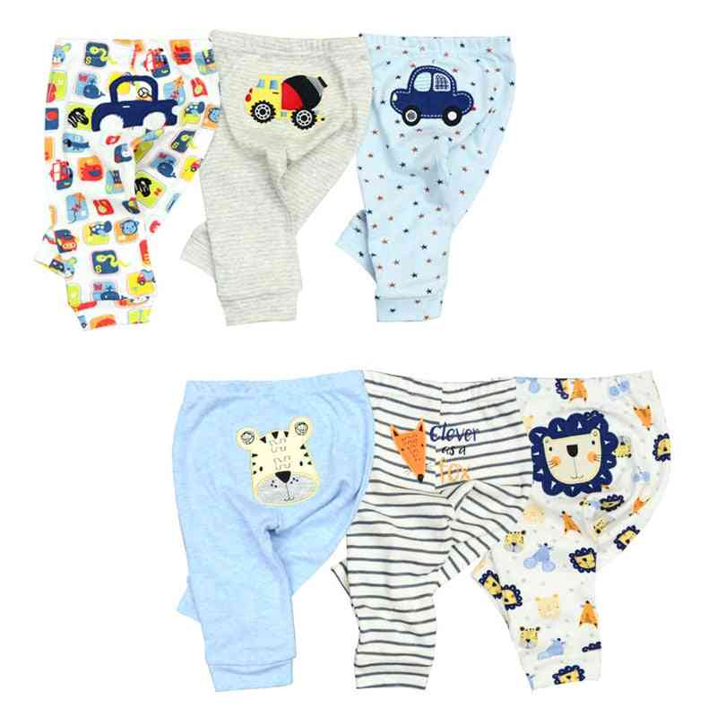 Cotton Autumn Leggings For Boys And Girls, Full Length Baby Trousers