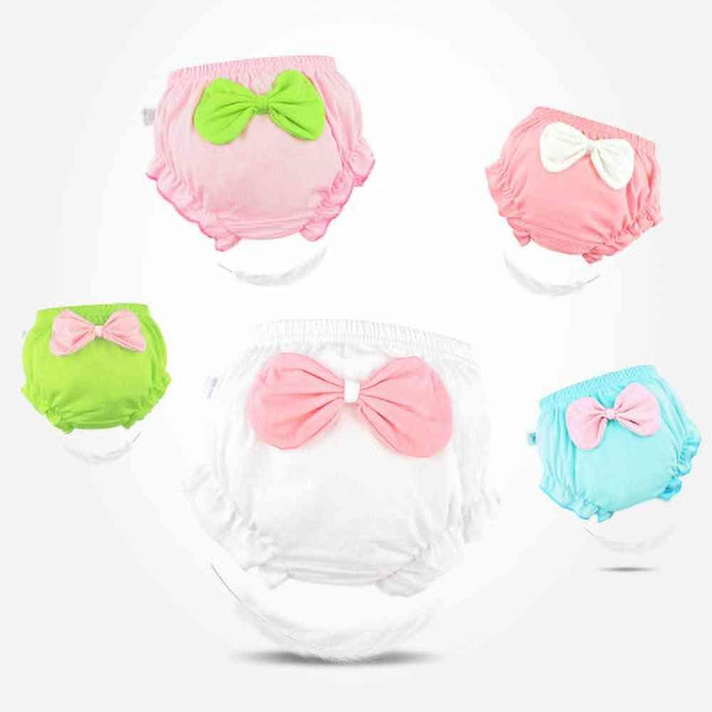 Toddler Cotton Underwear, Cute Big Bow Shorts