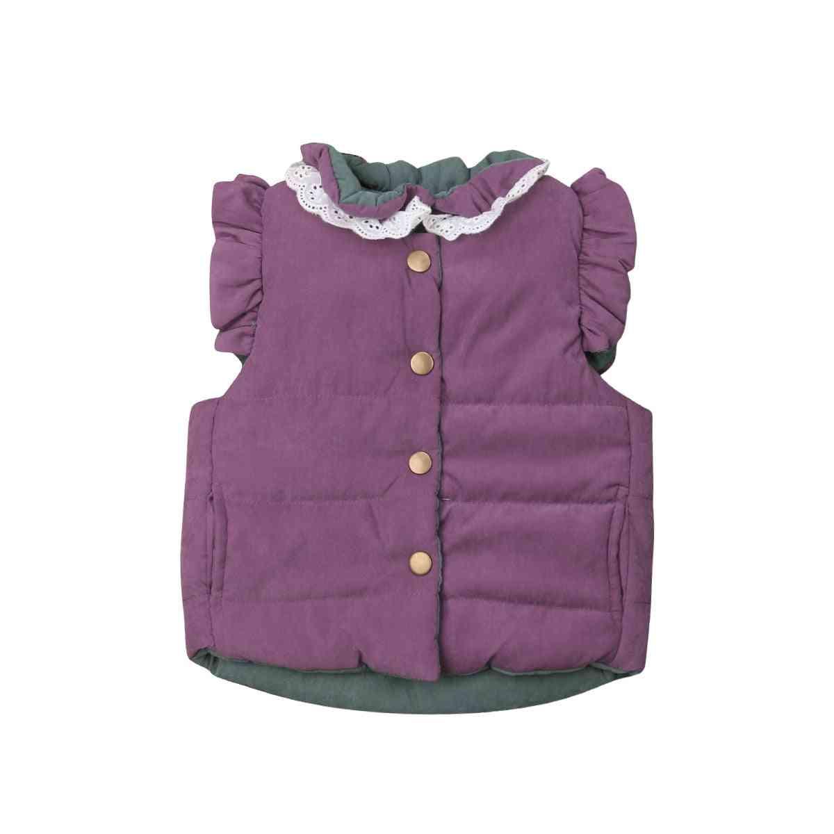 Baby, Winter Coat Jacket, Sleeveless Waistcoat Outerwear