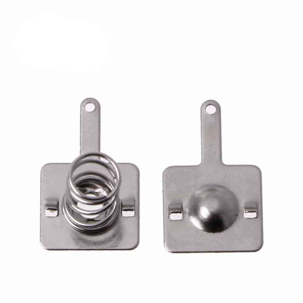 50 Pairs Metal Battery Spring And Plate Set