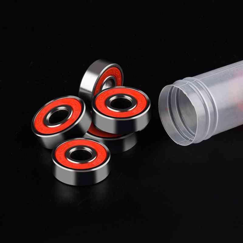 Abec Skate Scooter Skateboard Wheels, Spare Bearings, Ball Roller Shafts Bearing Steel