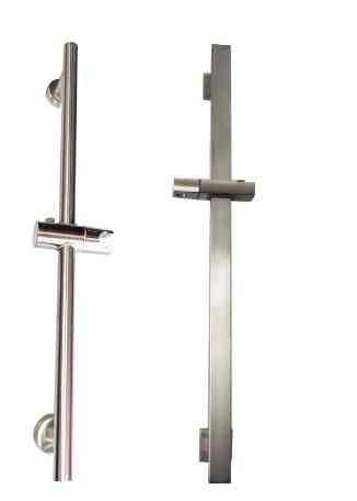 Round And Square Shape, Adjustable Hand Shower Holder-slide Bar
