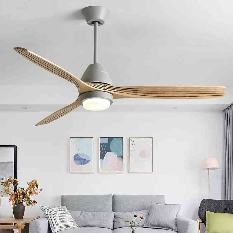 Modern Ceiling Fan Lamps,  With Light 52 Inch