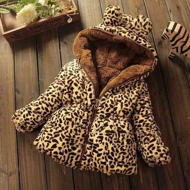 Winter Baby Outerwear Hooded Parkas Infant Jackets Warm Cotton