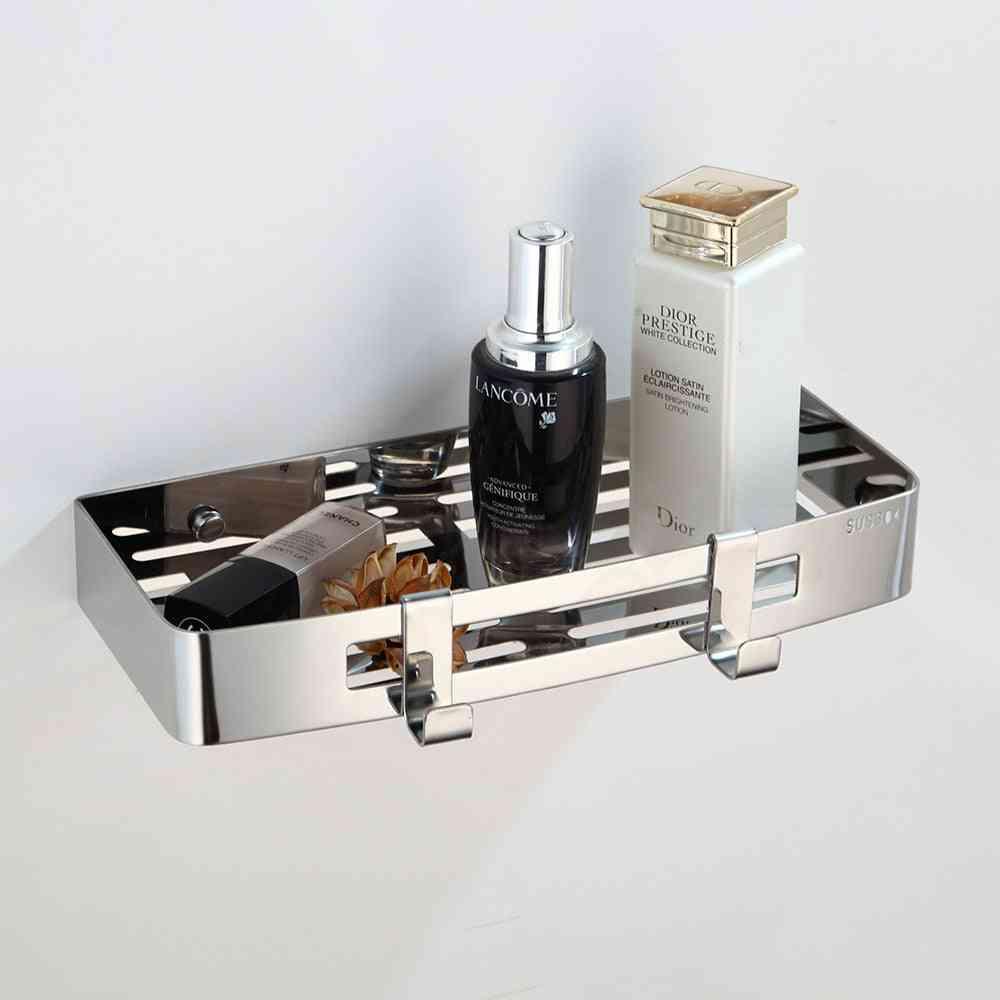 Chrome Polish Hardware Set, Stainless Steel Toilet Tools Holder