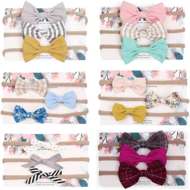 Cute Bow Baby Headband For Girl