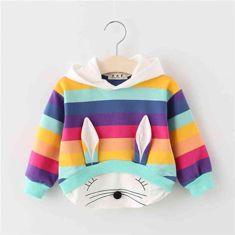 Baby Spring & Autumn Clothes, Cotton Hooded Cartoon Sweatshirt