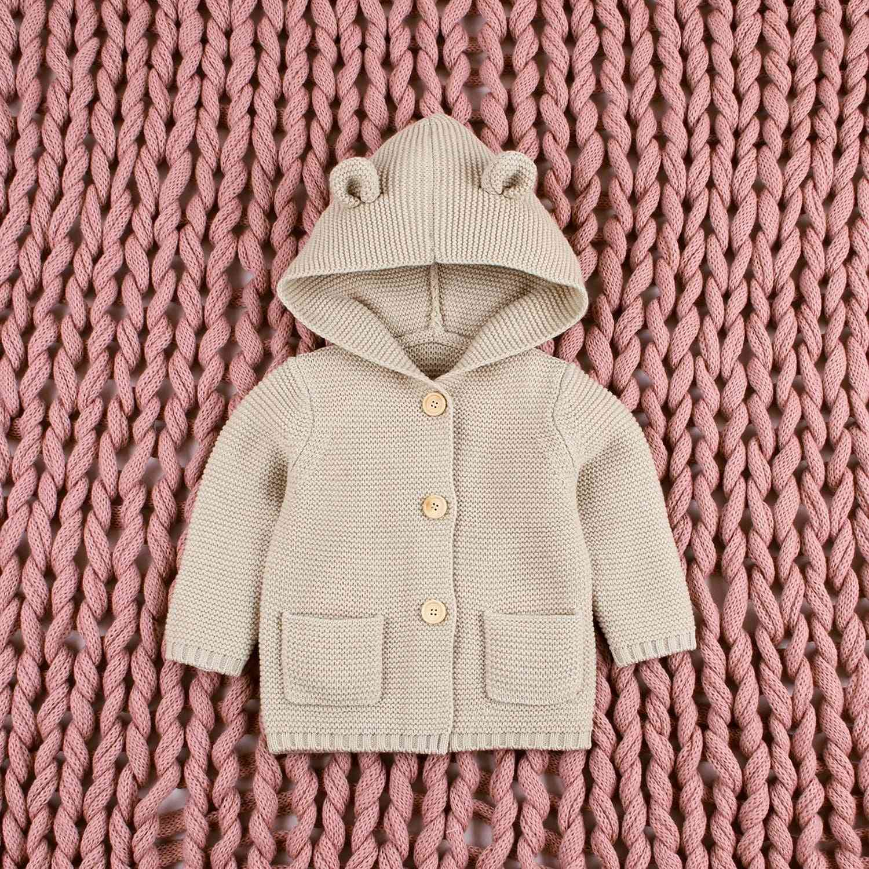 New Autumn Winter Sweaters - Baby Cartoon Cardigan Ears Clothing Coat