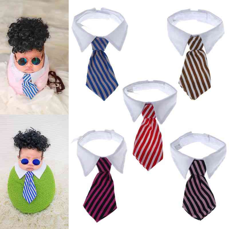 Baby Tie Collar Photography Props, Costume Wrap Shot