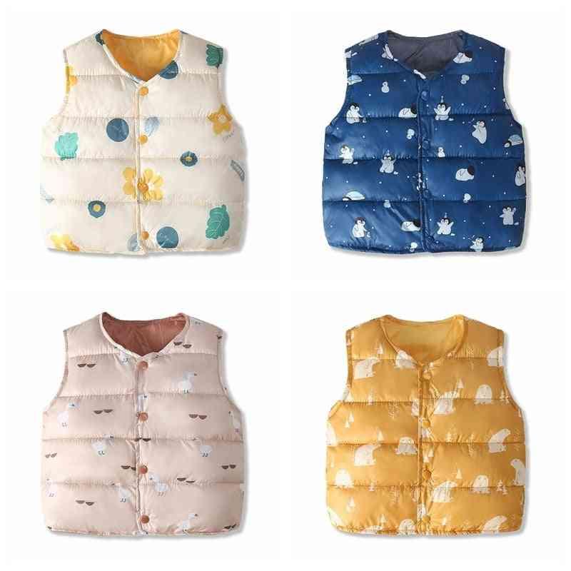 Baby Vest, Warm Clothing Winter Waistcost -cardigan Jackets Coats