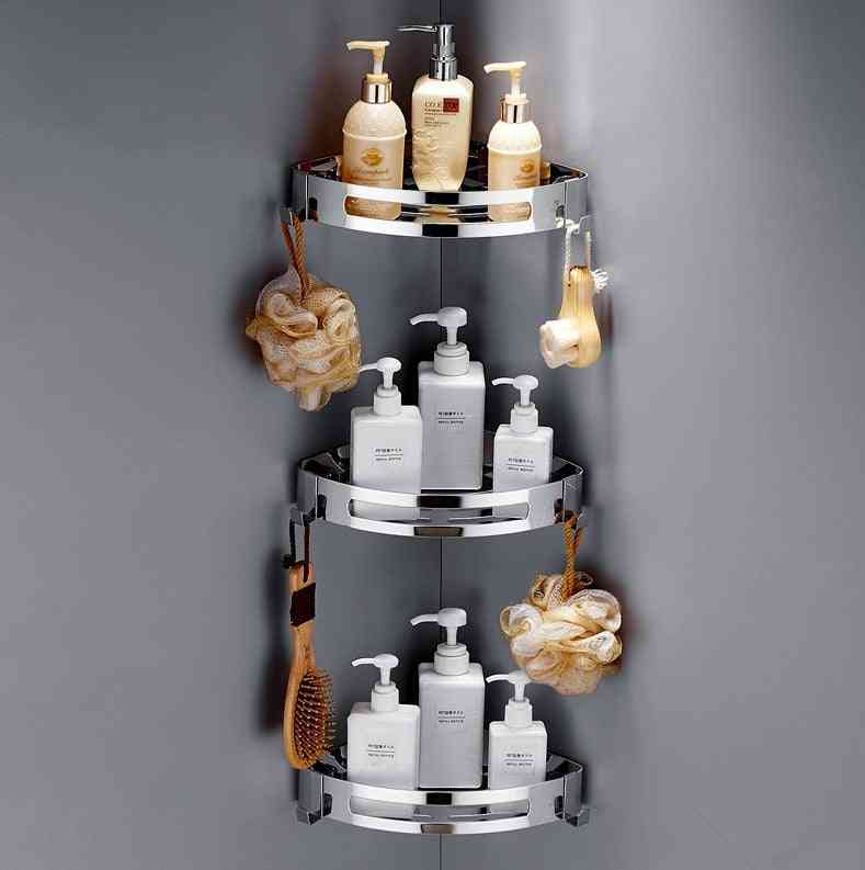 Shower Corner And Shelf Shampoo Storage Rack