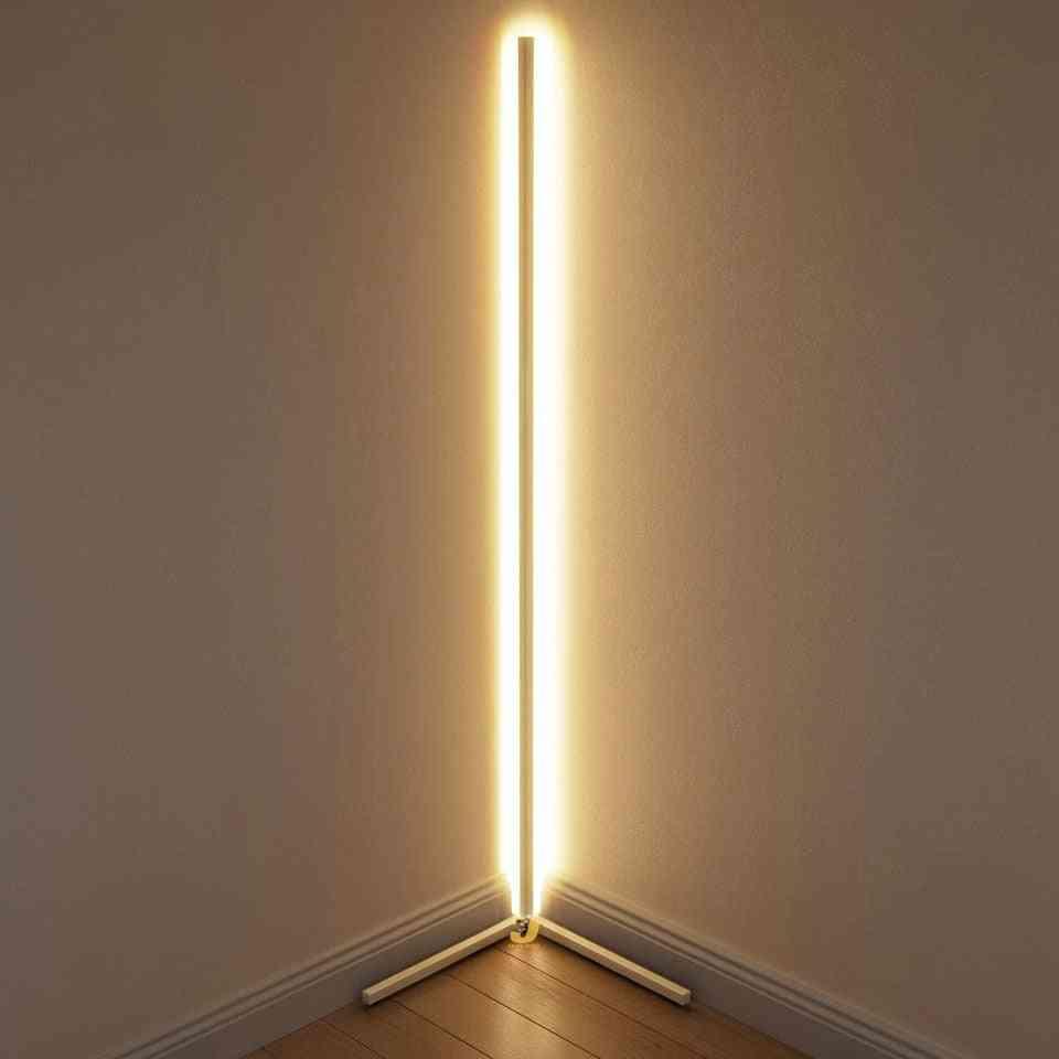 Modern Led Corner Floor Light For Living Room/lighting Bar