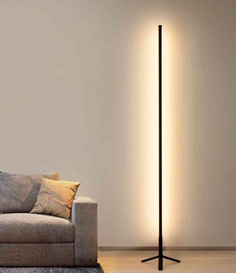 Modern Led Floor Lamp -simple Colorful Rgb Light