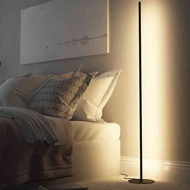 Floor Nordic Standing Lamps, And  Aluminum Tripot Stand Light
