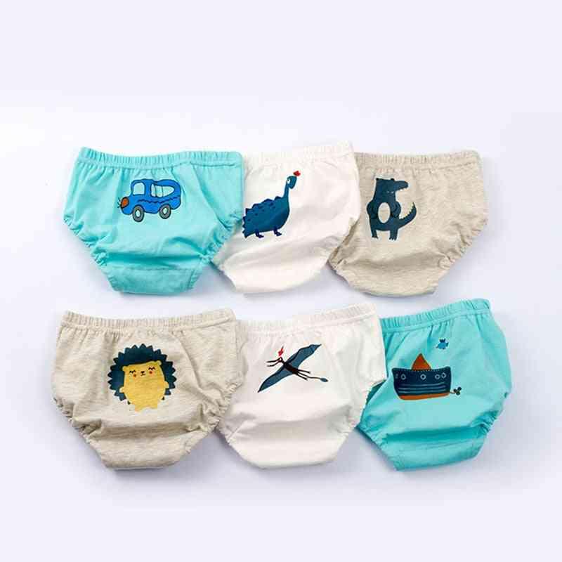 Baby Underwear Cartoon Briefs For -underpants Soft Cotton Panties