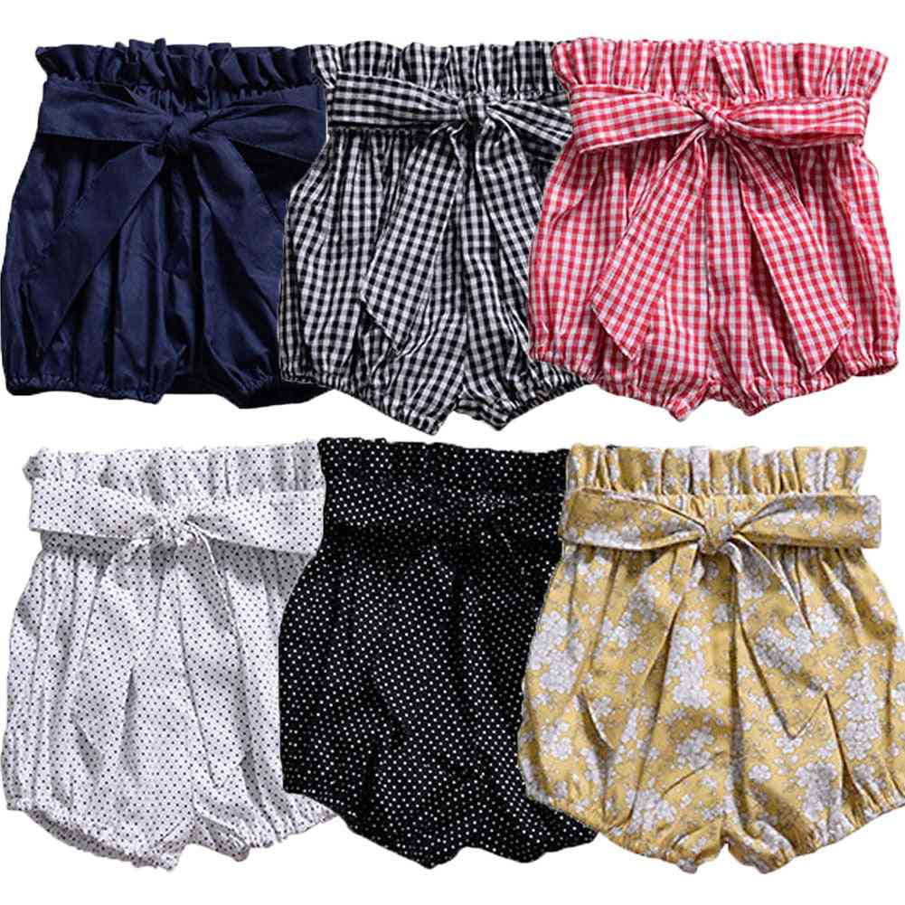 Newborn Baby Shorts-cute Bloomer Panties
