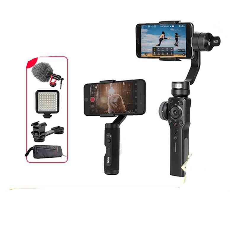 Smartphone Handheld 3 Axis,  Gimbal Stabilizer Action Camera Steadicam For Smartphone
