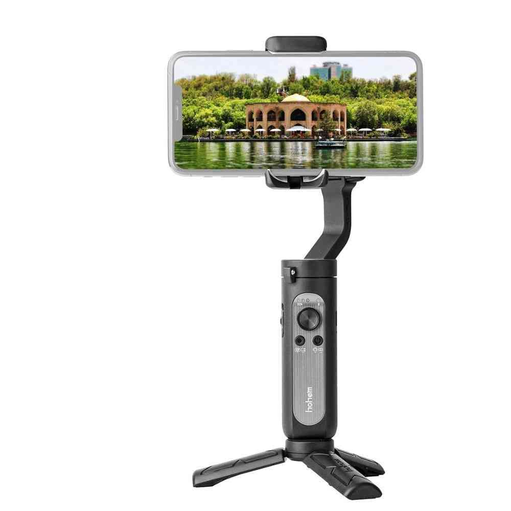 3-axis Palm Gimbal Handheld Stabilizer, Foldable Design One-click Inception Mode