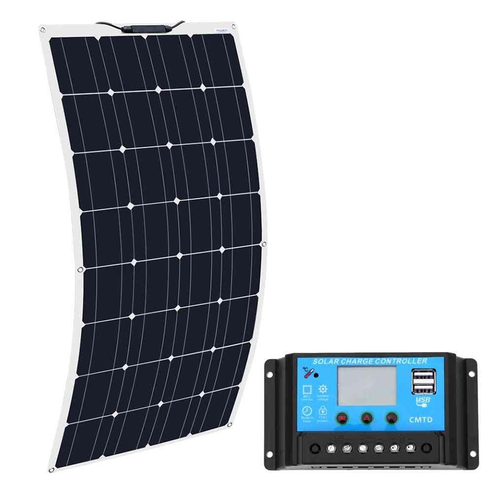 Flexible Solar Panel- Kit - Battery Charger