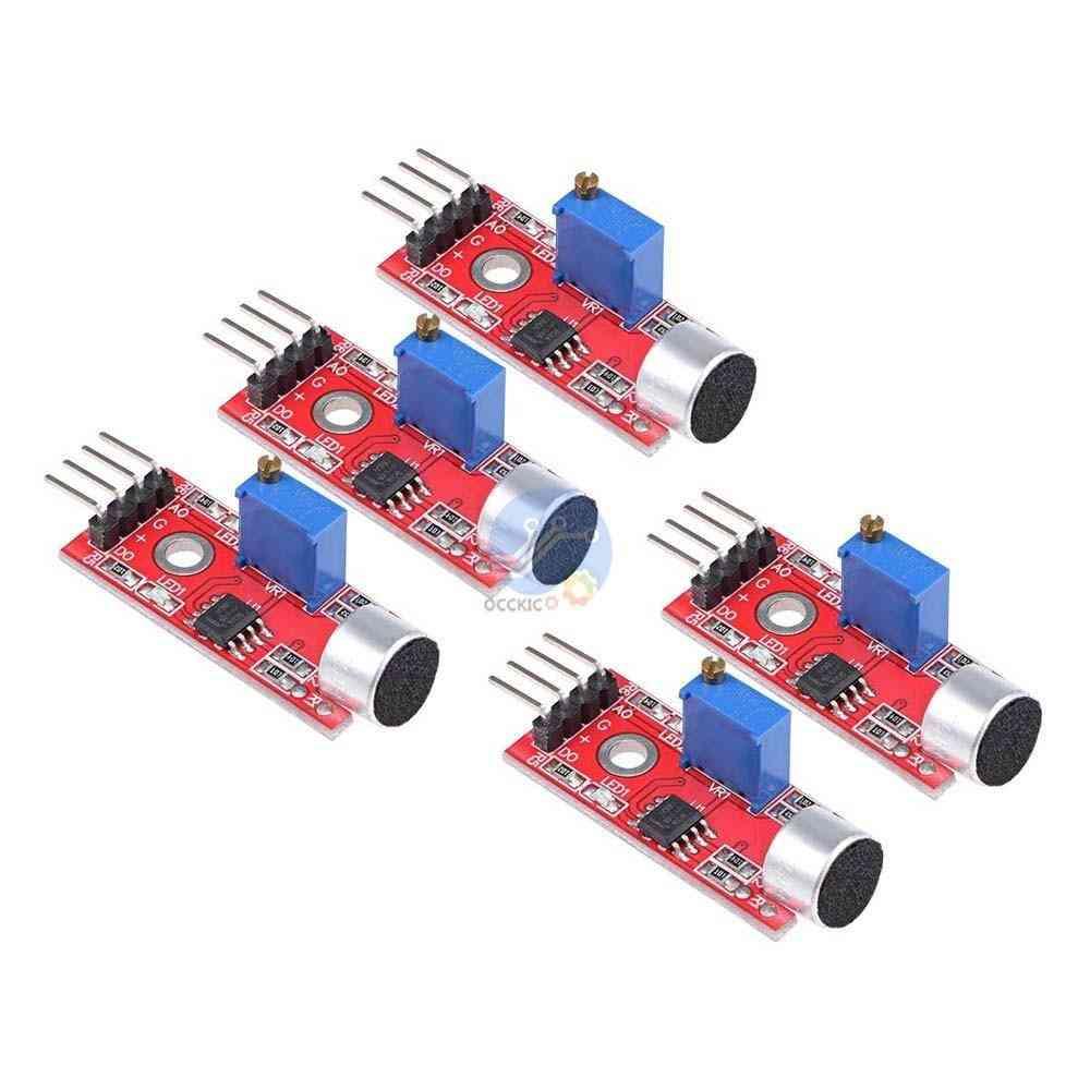 Sensitive Sound Microphone Sensor Detection Module For Arduino Avr Pic