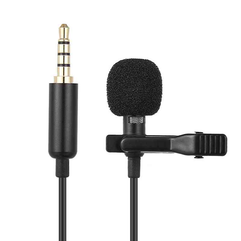 Mini Clip-on Lapel Lavalier Microphone